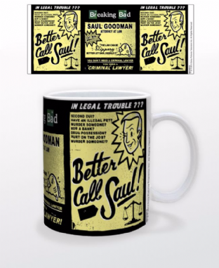 BREAKING BAD - Better Call Saul Boxed Mug (Brand New In Orange Box)